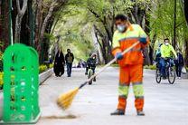 توزیع ١٠ هزار ماسک بین پاکبانان شهرداری منطقه دو بندرعباس