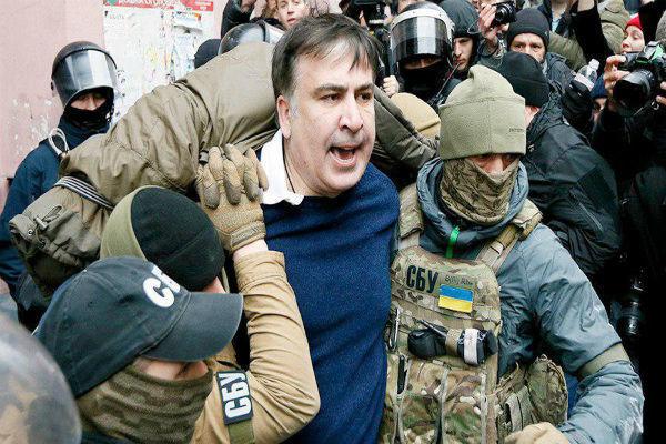 ساکاشویلی از اوکراین اخراج شد