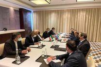 دیدار و گفتگو ظریف با همتای آذربایجانی خود