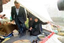 بازدید مدیرعامل بانک ملت از مناطق سیل زده استان لرستان