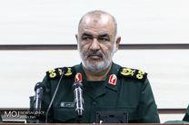 پیام تبریک سرلشکر حسین سلامی به فرمانده نیروی انتظامی