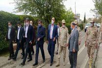 بازدید هیاتی از اعضای کمیسیون امنیت ملی از مناطق مرزی ایران و آذربایجان
