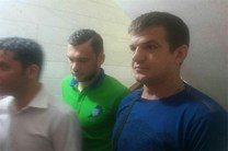 بازیکنان اوکراینی پرسپولیس در ایفمارک