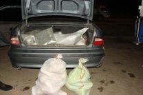 سواری سمند با 120 کیلوگرم تریاک در اصفهان توقیف شد