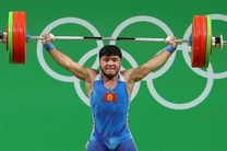 وزنهبردار قزقیزستانی، اولین دوپینگی المپیک سیویکم