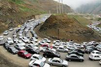 اعلام محدویتهای ترافیکی سه روز پایانی هفته