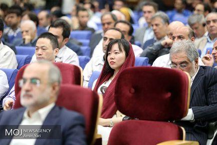 مراسم افتتاح ششمین نمایشگاه بین المللی حمل و نقل ریلی، صنایع، تجهیزات و خدمات وابسته