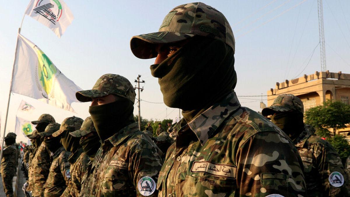 عملیات الحشدالشعبی علیه بقایای تروریست های داعش در موصل