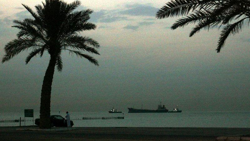 کویت سطح هشدار امنیتی در بنادر نفتی و تجاری خود را افزایش داد