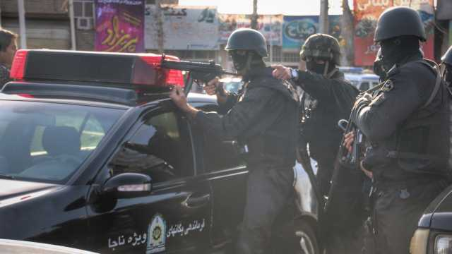 اجرای عملیات پلیس با عنوان نمایش اقتدار پلیس در کلاله