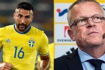 امیدوار بودیم قدوس تصمیم بگیرد که برای سوئد بازی کند