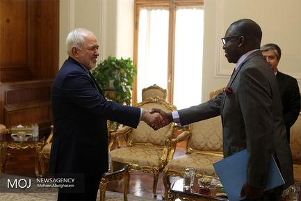 تقدیم رونوشت استوارنامه سفیر جدید مالی به ظریف
