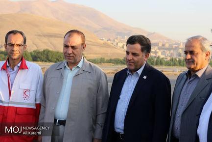سفر رییس جمعیت هلال احمر به استان کردستان