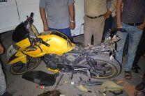 برخورد دو موتورسیکلت، جان جوان 18 ساله را گرفت