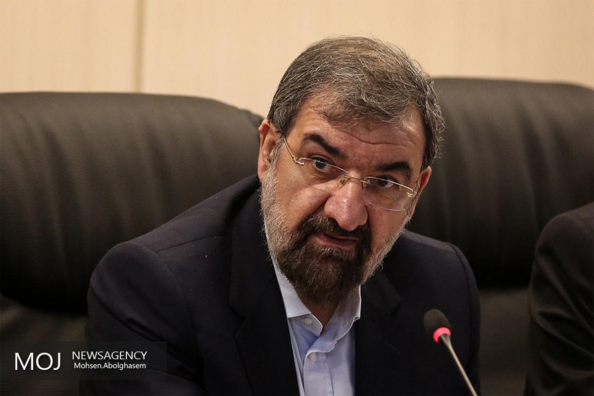 واکنش محسن رضایی به تحریف نظر رهبر انقلاب درباره رفع تحریم ها