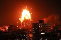 شهادت پنج فلسطینی به دنبال حملات رژیم صهیونیستی به نوار غزه