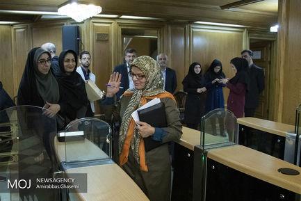 اولین جلسه شورای شهر تهران در سال ۱۳۹۸