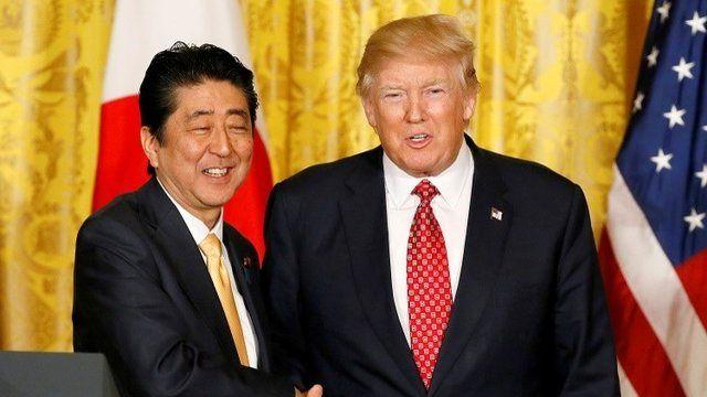 رایزنی تلفنی شینزو آبه با ترامپ قبل از سفر به ایران