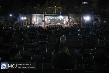 عزاداری شب عاشورای حسینی در بقعه شیخ طرشتی