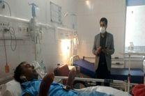 مدیرعامل سازمان آتشنشانی از آتشنشان فداکار قمی عیادت کرد