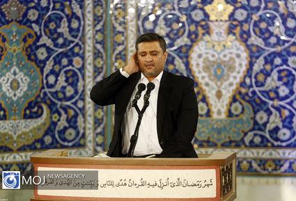 مراسم انس با قرآن در اولین روز از ماه مبارک رمضان