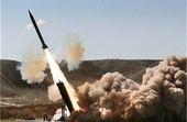 حمله موشکی ارتش یمن به پایگاه شبهنظامیان مستقر در جنوب یمن