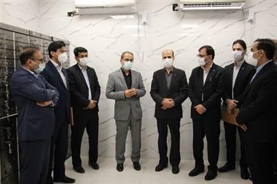 افتتاح دومین صندوق امانات بانک قرض الحسنه مهر ایران