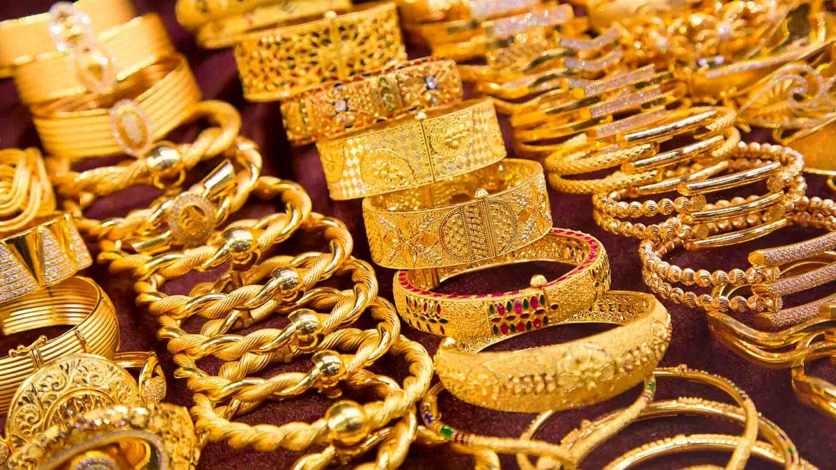 نوسان قیمت جهانی طلا در معاملات امروز