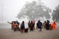 سیل در هندوستان، 100 کشته برجا گذاشته است