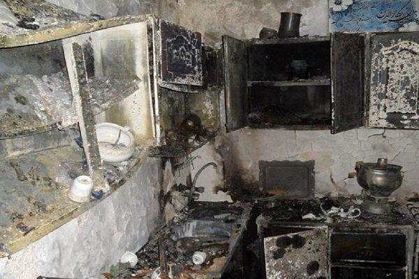 انفجار گاز در اردبیل 7 نفر را راهی بیماستان کرد/وضعیت 2 تن وخیم است