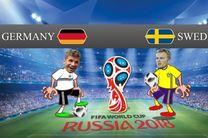 ترکیب تیم ملی فوتبال آلمان و سوئد مشخص شد