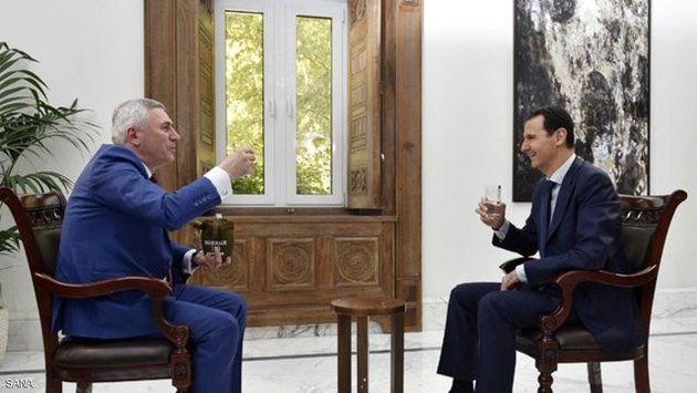 انتقاد بشار اسد از مذاکرات ژنو و تمجید از گفتوگوهای آستانه