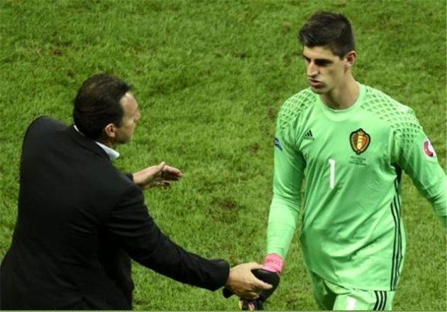 کورتوا از ویلموتس در پی حذف بلژیک انتقاد کرد