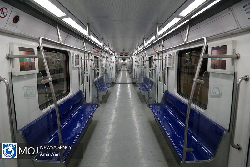 نقص فنی در خط ۲ متروی تهران