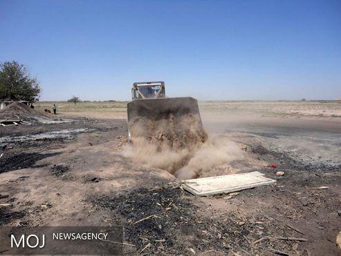 ۲۰کوره زغالگیری در تهران تخریب شد