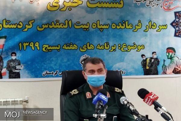 ورود بسیجیان به عرصه مبارزه با ویروس کرونا/ کمک های مومنانه ادامه دار خواهد بود