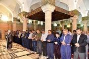 نماز عید سعید فطر در مسجد جامع و مسجد قبا سنندج