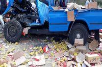 """تصادف در آزاد راه """"رشت – قزوین """" 2 کشته بر جای گذاشت"""