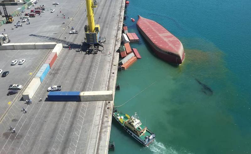 جزئیات سانحه واژگونی کشتی کانتینربری «اس.ال.استار»