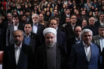 روحانی به دانشگاه تهران می رود