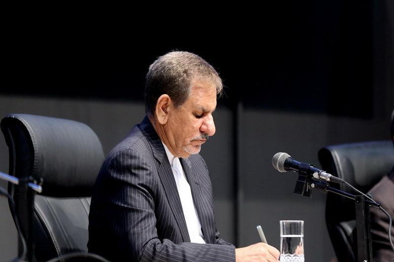 پیام تسلیت جهانگیری به وزیر راه و شهرسازی