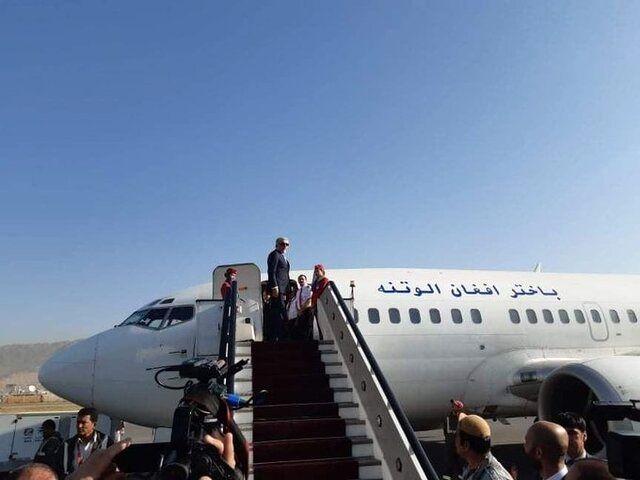 عبدالله عبدالله کابل را به مقصد تهران ترک کرد