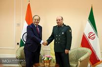 دیدار وزیر دفاع ایران با وزرای دفاع هند و صربستان