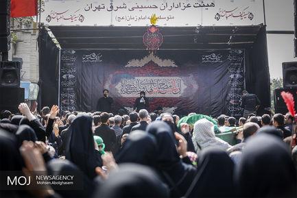 مراسم عزاداری عاشورای حسینی در محله هنگام