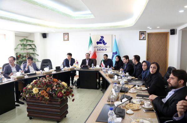 دومین نشست برنامه باز نشر دانش (ksp) در سازمان گسترش و نوسازی صنایع ایران برگزار شد