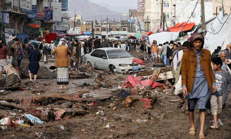 شهادت ۴ کودک یمنی بر اثر انفجار بمب خوشهای ائتلاف سعودی