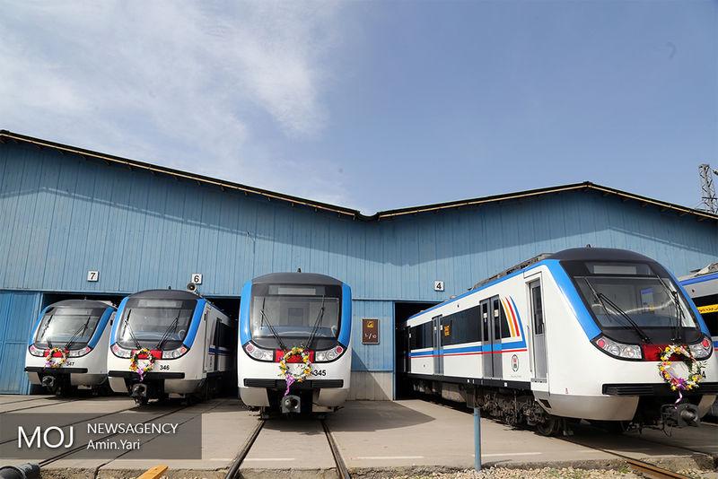 ۸۵ درصد از واگنهای خریداری شده برای مترو ترخیص شدهاند