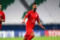 گل رضاییان به عنوان زیباترین گل هفته پنجم لیگ ستارگان قطر انتخاب شد