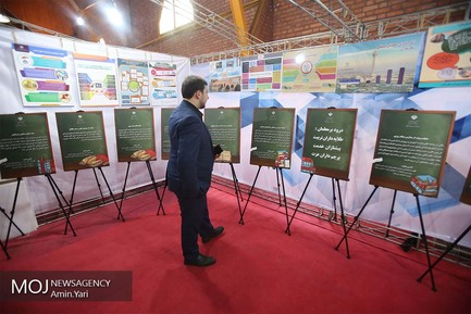 افتتاح نمایشگاه دستاوردهای آموزش و پرورش