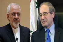 وزیر امور  خارجه جدید سوریه با ظریف دیدار کرد